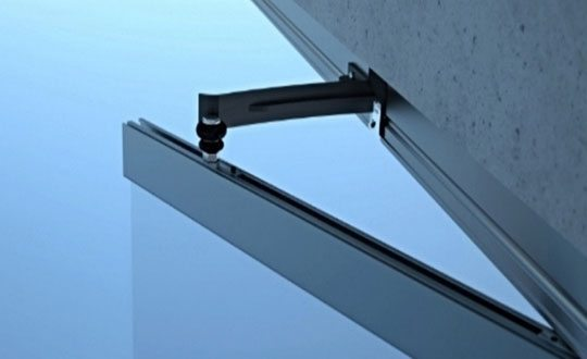 Top Hung Folding Glass Door