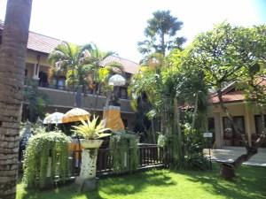 Garden facing rooms at Adhi Jaya, Kuta, Bali