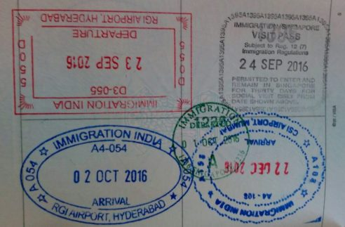 How to apply for Singapore tourist Visa from India