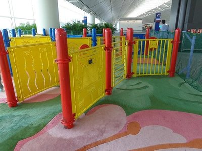 Childrens play area at HKIA