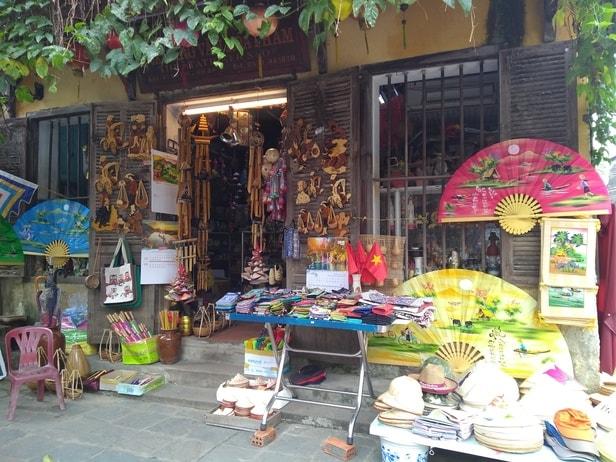 Shop selling souvenirs