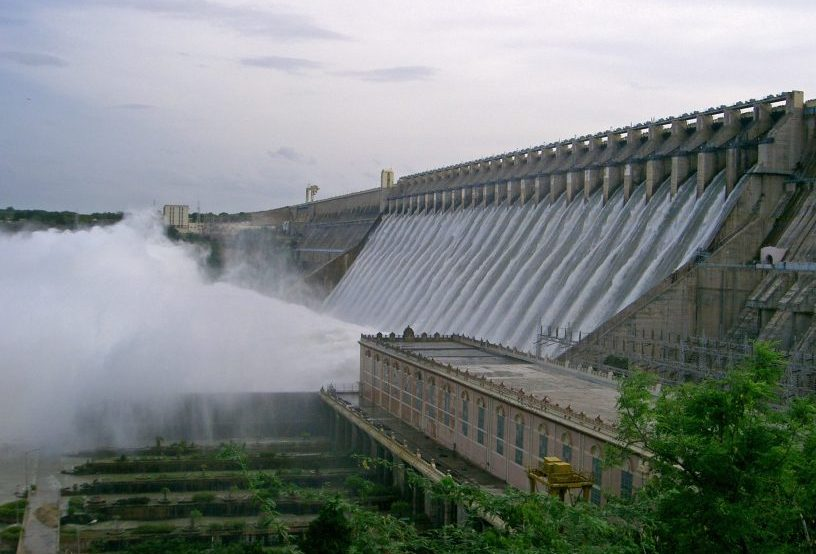 Nagarjuna Sagar Dam - photo courtesy Wikipedia