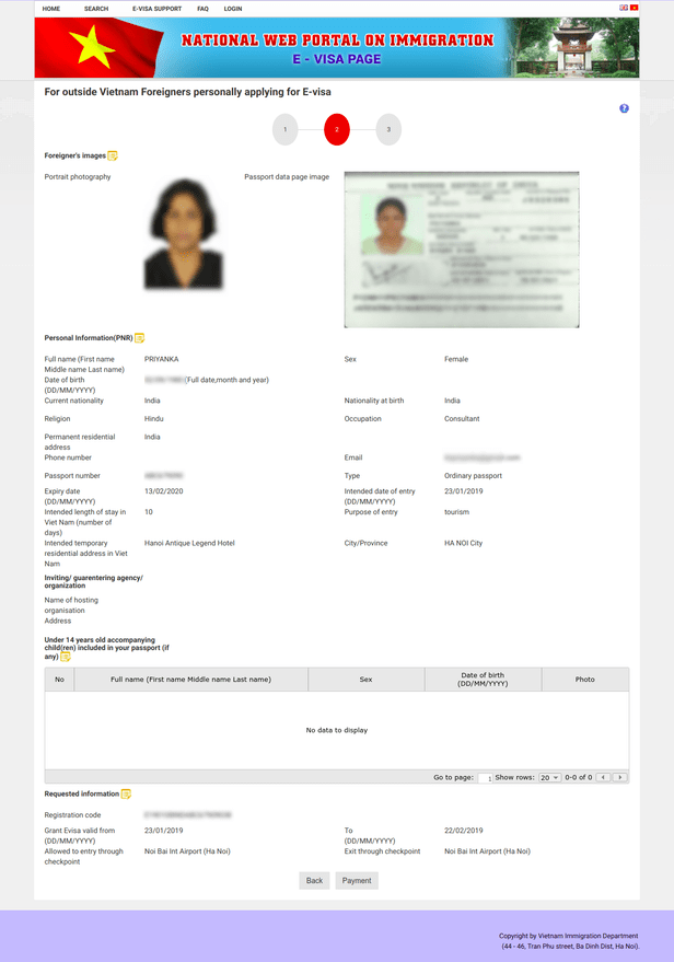 Vietnam Tourist Visa Online Application