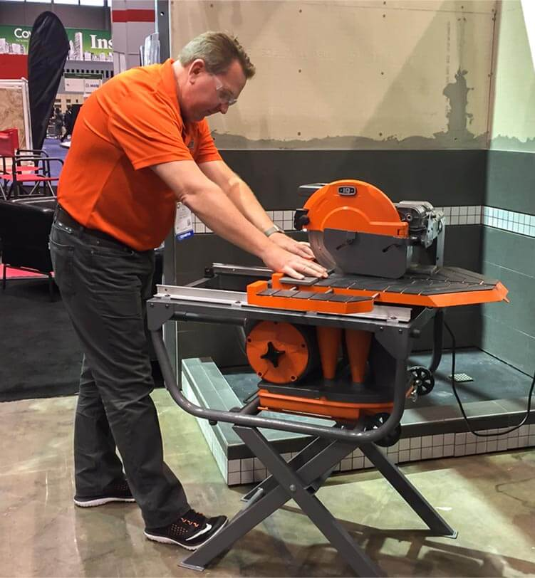 dry cut tile saw introduced coverings