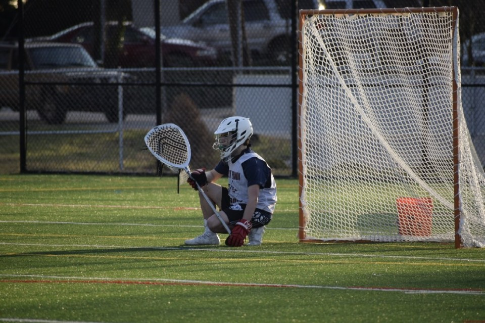 Mount Vernon goalie