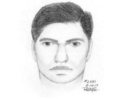 Police sketch of suspect