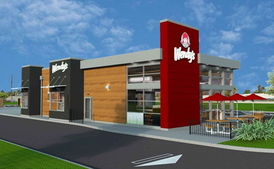Drawing of new Wendy's