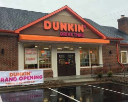 Exterior of Dunkin Donuts on Telegraph Road