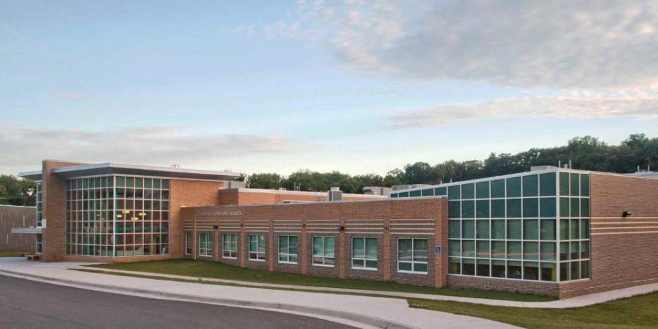 Exterior shot of school