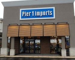 Pier 1 exterior in Mount Vernon Plaza