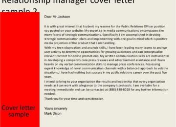 Public Relations Associate Cover Letter | Enthusiastic Cover Letter ...