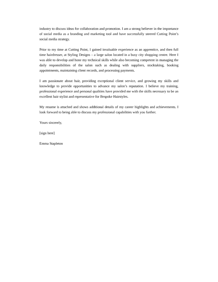 City Manager Resume Cover Letter