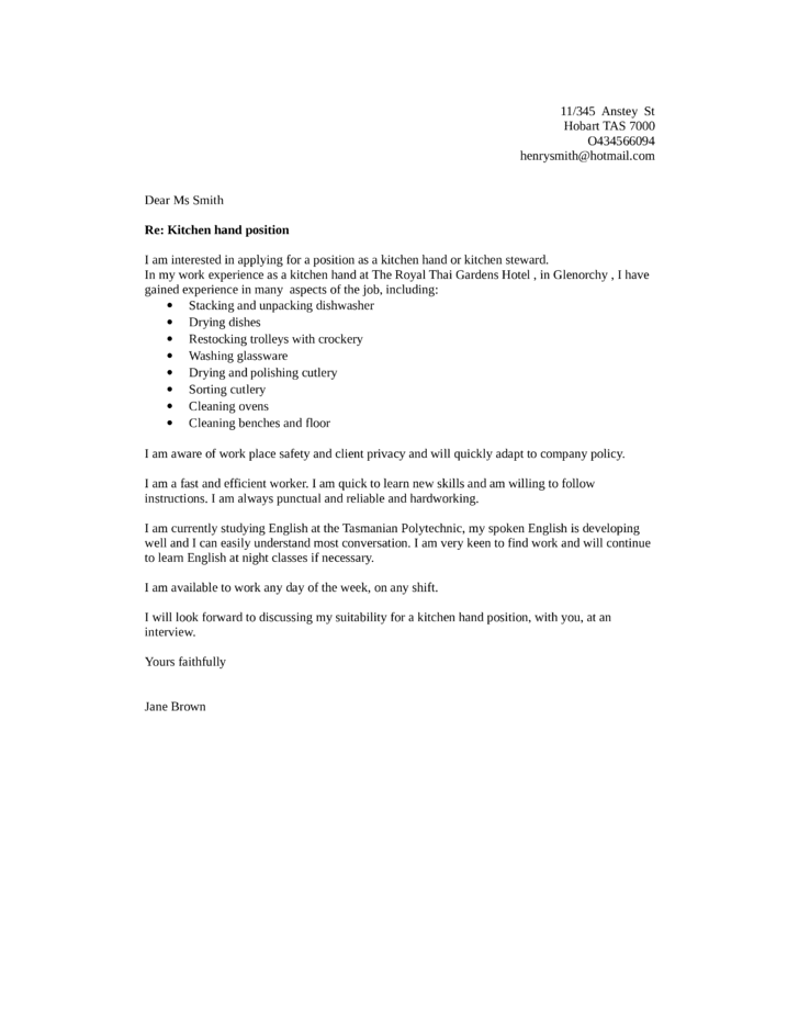 Resume Examples kitchen hand 5000++ Free Professional Resume ...