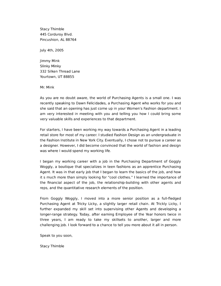 Cover Letter Jimmy Sweeney Resumes