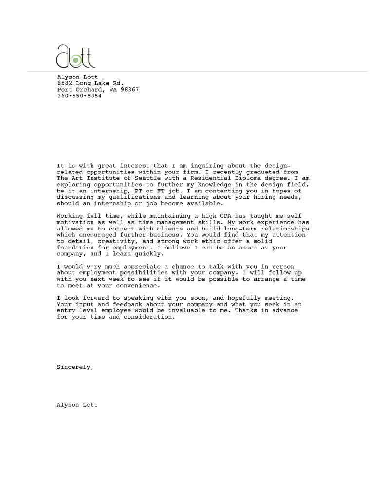 Director of special education cover letter