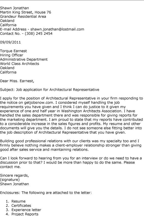 Architecture internship application cover letter  writefiction581webfc2com