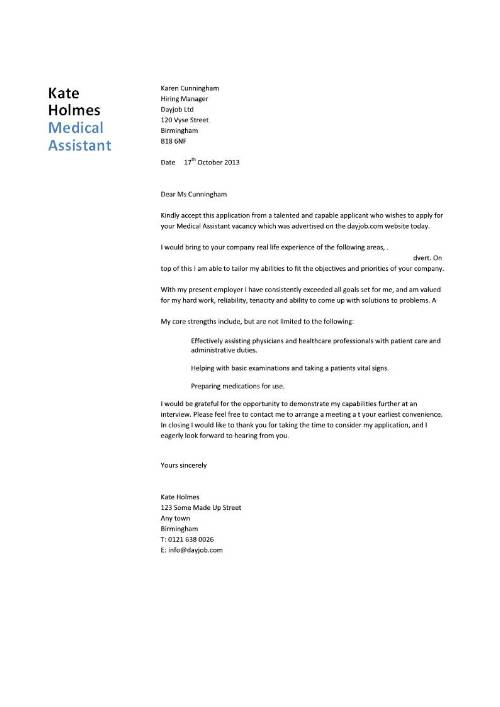 How To Write A Cover Letter Nurse Practitioner