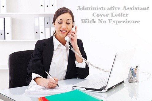 Administrative Assistant Cover Letter No Experience Page Image