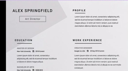 The Best Resume Templates 2018 A Perfect Guide For Job Seekers