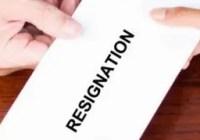 Elementary Teacher Resignation Letter Page Header
