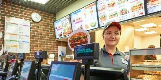 fast food cashier job description and duties