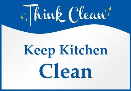 Keep Kitchen Clean Memo Samples Clr