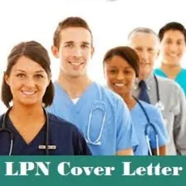 LPN Cover Letter Header Image