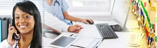 Medical Office Administrator Cover Letter Example Banner