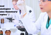 Medical-Technologist-Resume-Summary-Page-Image