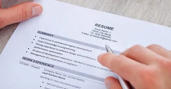 Resume Writing Tips Page Banner