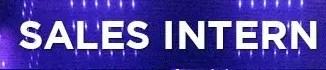 Sales Intern Resume Sample Page Banner