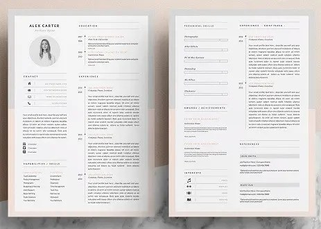The Best Resume Templates For 2019 Get Perfect Ideas Clr