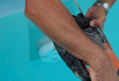 installation de votre volet piscine
