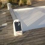 volet de piscine alimentation solaire