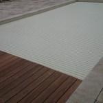 caillebotis bois sur mesure et lames sables