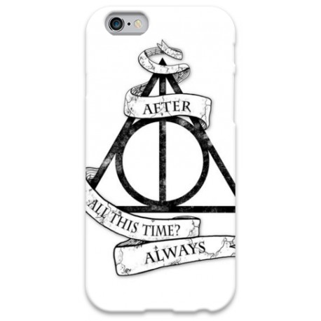 COVER HARRY POTTER ALWAYS per iPhone 3g/3gs 4/4s 5/5s/c 6
