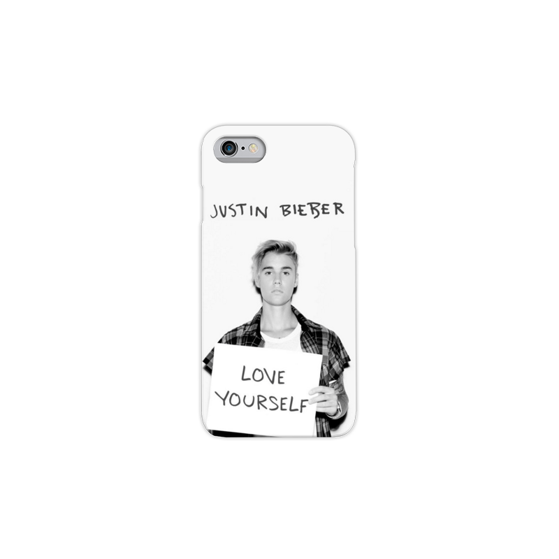 COVER JUSTIN BIEBER per iPhone 3g/3gs 4/4s 5/5s/c 6/6s/7