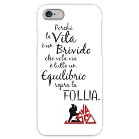 COVER VASCO ROSSI Sally frase per iPhone 3g/3gs 4/4s 5/5s