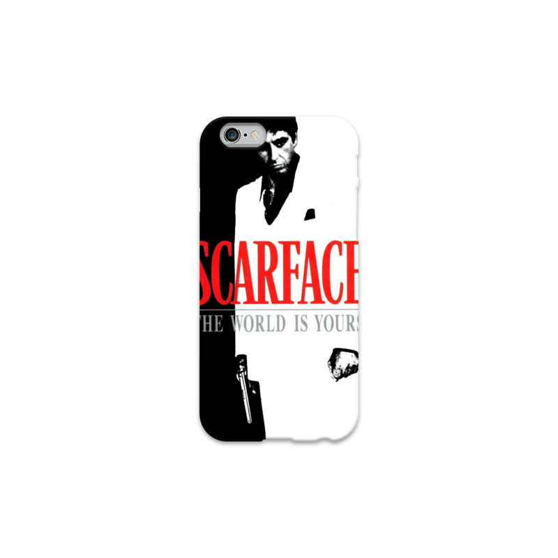 COVER SCARFACE per iPhone 3g/3gs 4/4s 5/5s/c 6/6s Plus