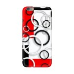 Black And White Circle Mobile Cover For IPhone 6