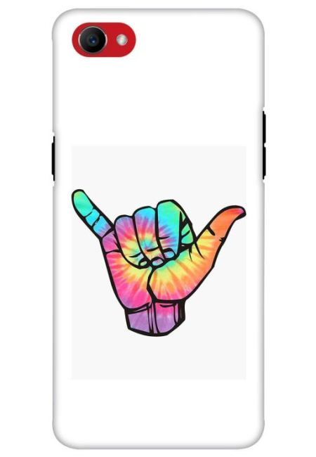 Tie Dye Shaka Mobile Cover For Oppo F7 Youth