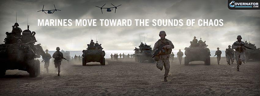 marines move toward the