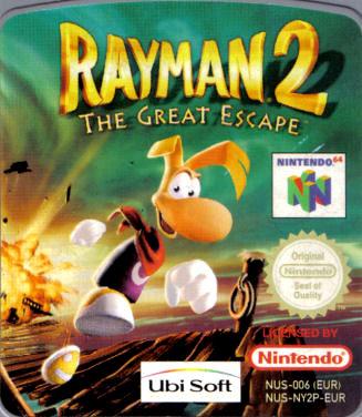 rayman 2 n64 the