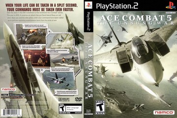 Ace Combat 5: The Unsung War (PS2) - The Cover Project