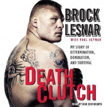 Death Clutch audio book by Brock Lesnar