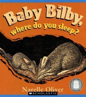 Image result for baby bilby where do you sleep?