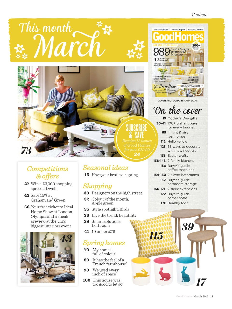 Good Homes Magazine Subscription Offers
