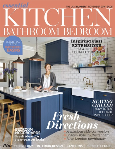 kitchen magazine smudge proof stainless steel appliances essential bathroom bedroom november 2016 title cover preview