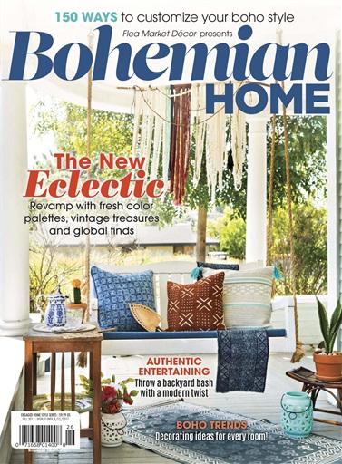 Flea Market Dcor Magazine  FMD Bohemian Home 2017