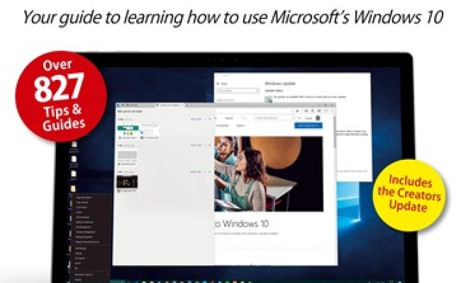 Windows 10 The Beginners Guide Magazine Windows 10
